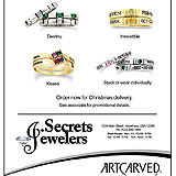 ArtCarved Stackables Sample Ad