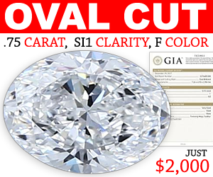 Blue Nile Oval Diamonds