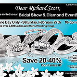Bridal Show Diamond Event Sample Ad