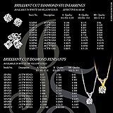 Diamond Earring Pendant Catalog Page Sample Ad