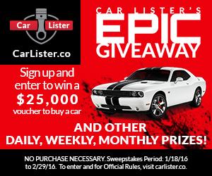 Win a free car!