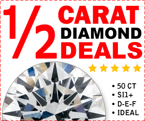 Half Carat Diamond Deals
