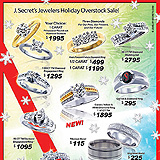 Holiday Jewelry Overstock Sample Ad