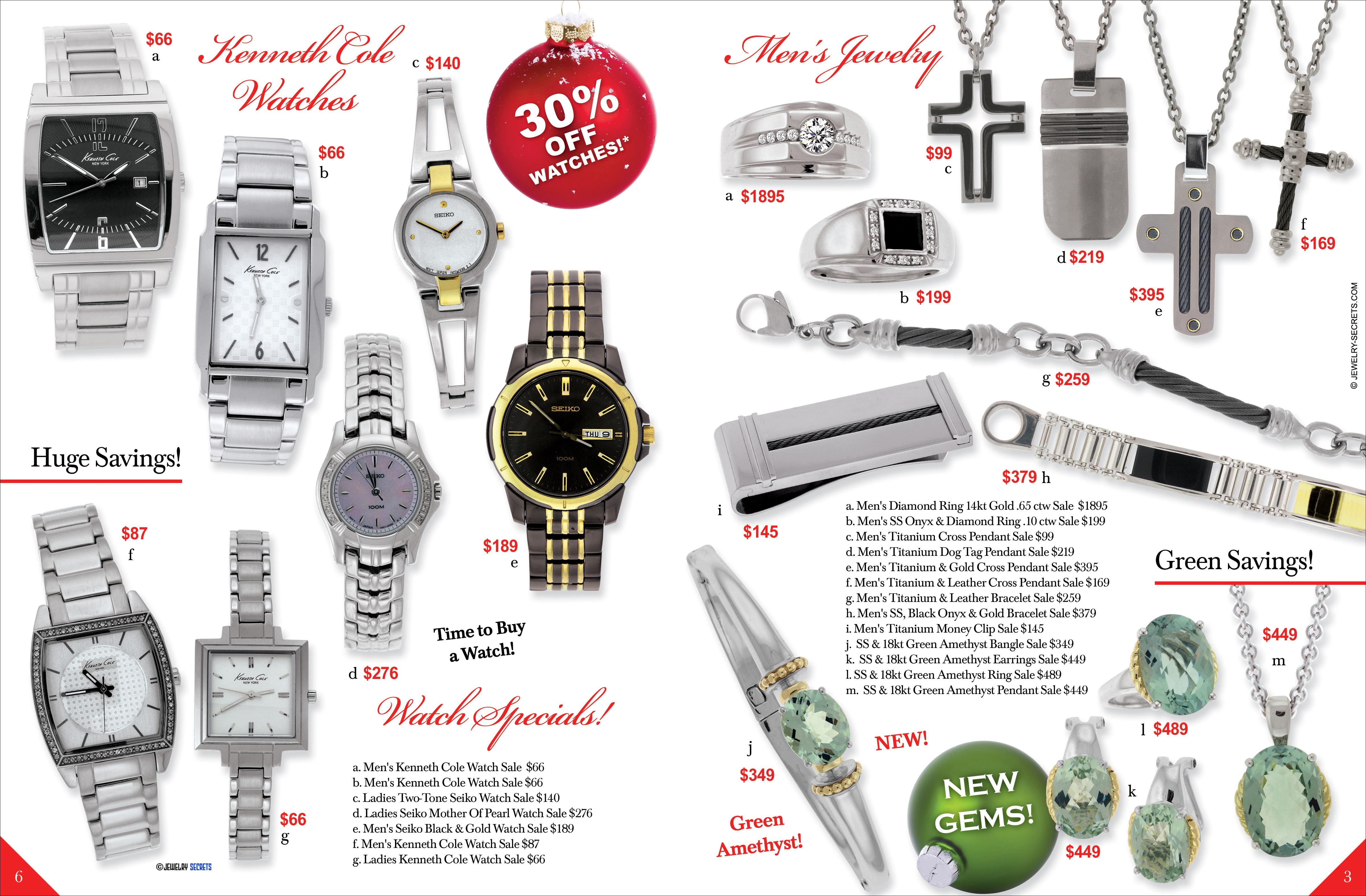 christmas jewelry catalog sample advertisement jewelry secrets