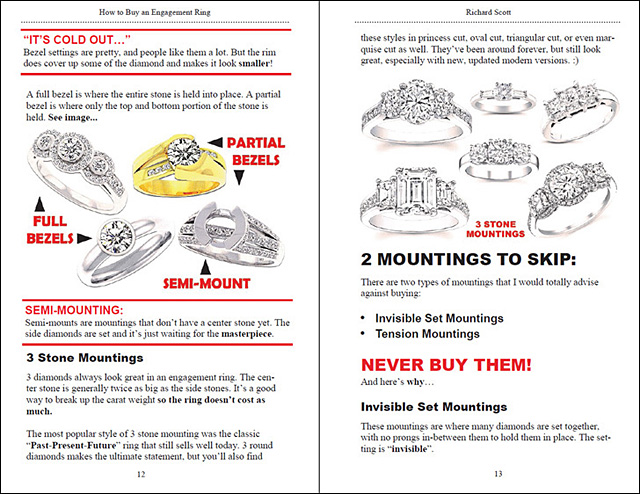 Page 12 How to Buy an Engagement Ring