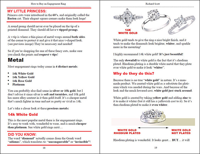 Page 18 How to Buy an Engagement Ring