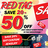 Red Tag Jewelers Sales Sample Ad
