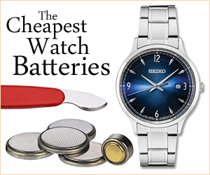 Cheapest Watch Batteries