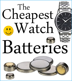 The Cheapest Watch Batteries