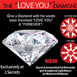 Love You Diamond Sample Ad