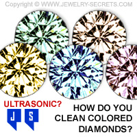 How Do You Clean Colored Diamonds?