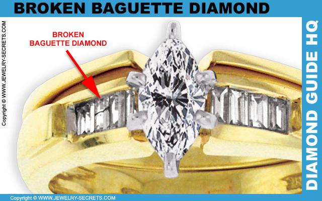 Broken Baguette Diamond