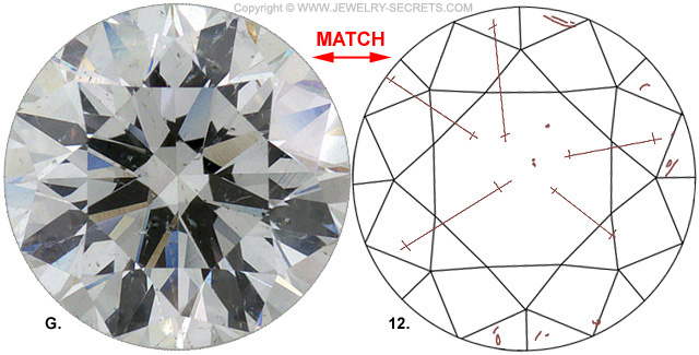 Diamond Clarity I1 H Diamond Match