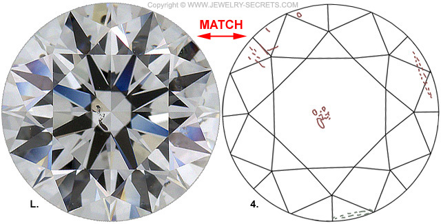 Diamond Clarity SI1 E Diamond-Match