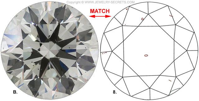 Diamond Clarity SI1 J Diamond Match