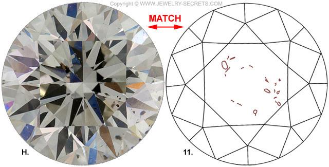 Diamond Clarity SI2 J Diamond-Match