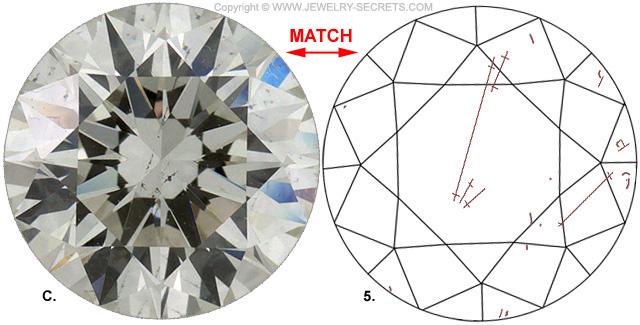 Diamond Clarity SI2 K Diamond Match