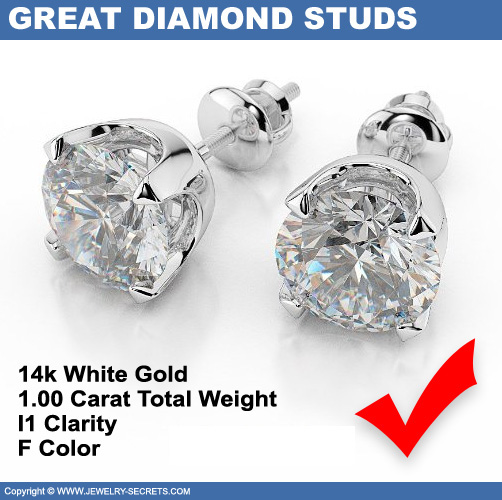 clarity tdw g earrings f round watches diamond yellow ea free jewelry color product stud prong vs gold