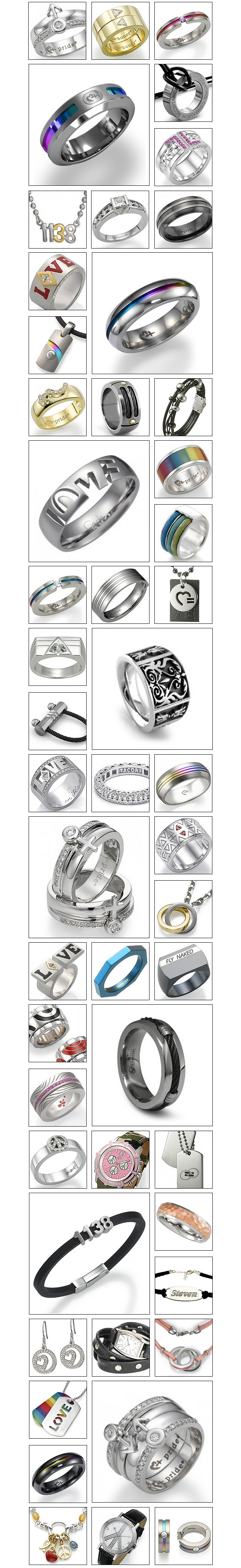 Significant Other LGBT Gay Pride Jewelry