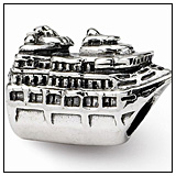 Big Cruise Ship Bead Charm