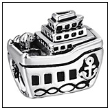 Cruise Ship Charm Bead