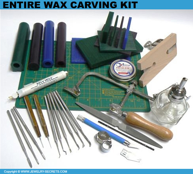 Entire Wax Carving Jewelry Kit