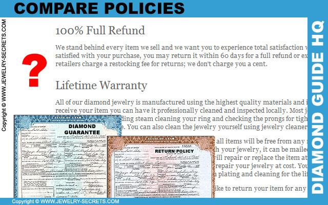 Compare Diamond Policies