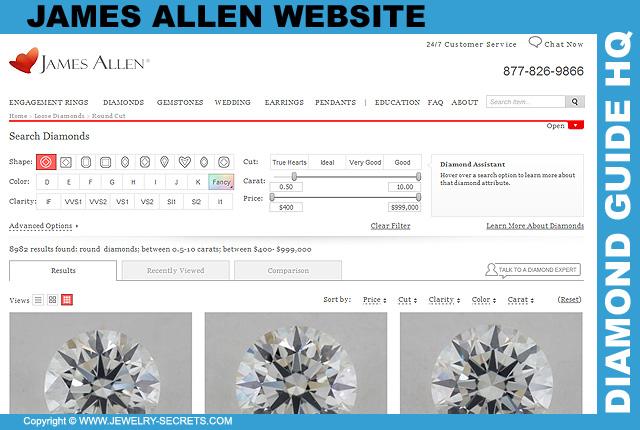 James Allen Website