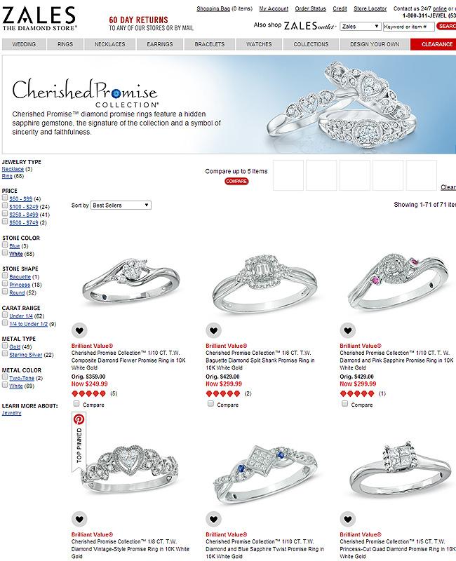 sapphire promise rings jewelry secrets