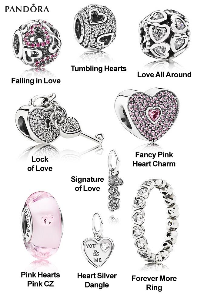 pandora charm beads valentines gifts 2015