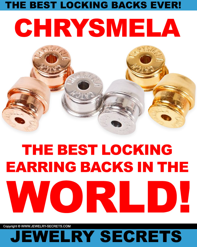 Best Chrysmela Catch Locking Earring Backs in the World