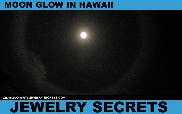 Moon Glow In Hawaii
