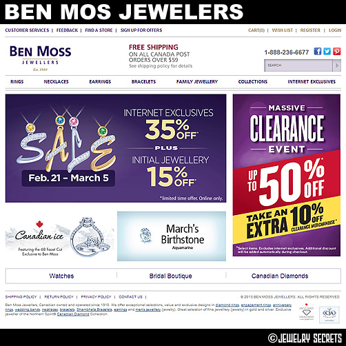 Ben moss jewellers coupons canada / Double coupon days at