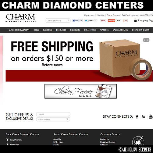 Charm Diamond Centers