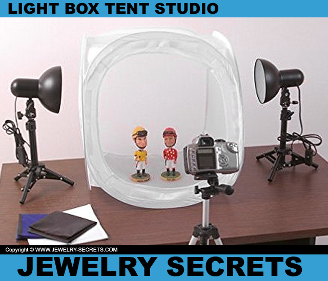 Jewelry Light Box Tent Studio