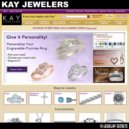 The top largest jewelry store chains jewelry secrets for Jared jewelry store website