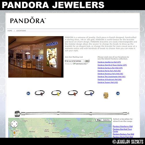 Pandora Jewelers