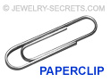 Rings Bend like a Paperclip
