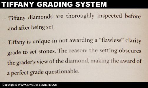 Tiffany Diamond Grading System