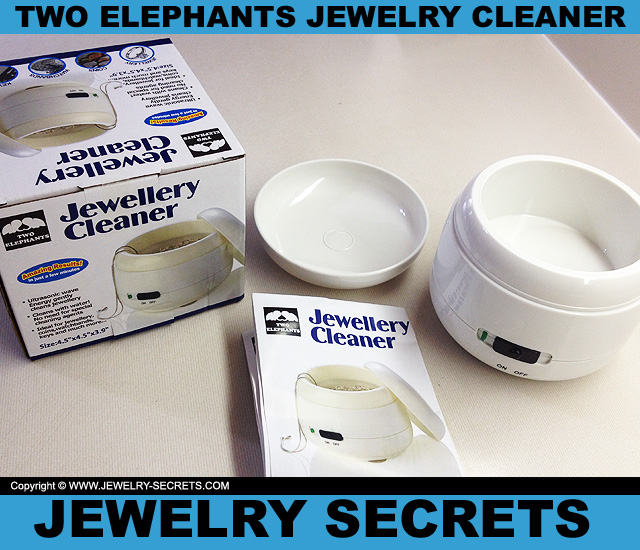 Jewelry cleaner gentle jewelry cleaner for Sparkle spa pro jewelry cleaner reviews