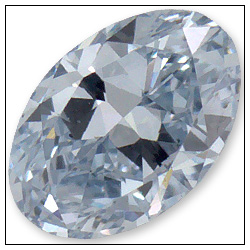 020 Carat Fancy Blue Diamond