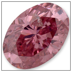 021 Carat Fancy Vivid Purplish Pink Diamond