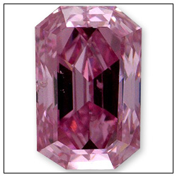 026 Carat Fancy Intense Purplish Pink Diamond