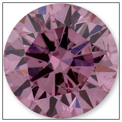 031 Carat Fancy Intense Purplish Pink Diamond