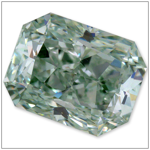 032 Carat Fancy Brownish Green Diamond