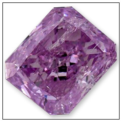 035 Intense Purple Pink Colored Diamond