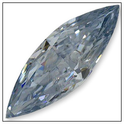 041 Carat Fancy Blue Diamond