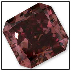 045 Carat Fancy Red Diamond