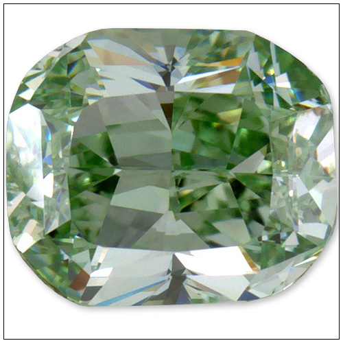 052 Carat Fancy Intense Green Diamond