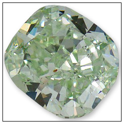 063 Carat Fancy Green Diamond